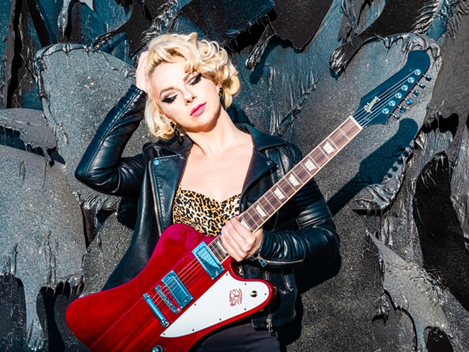 Singer-guitarist Samantha Fish. - KAELEN BAROWSKY