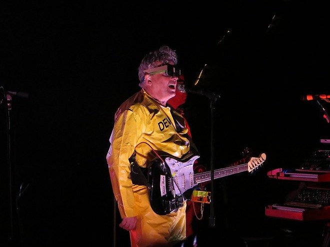 Devo performing in 2012 at the Mountain Winery - PHOTO BY KEVIN EDWARDS/FLICKRCC