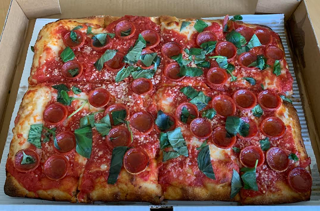 The Sicilian pie - PHOTO BY DOUG TRATTNER