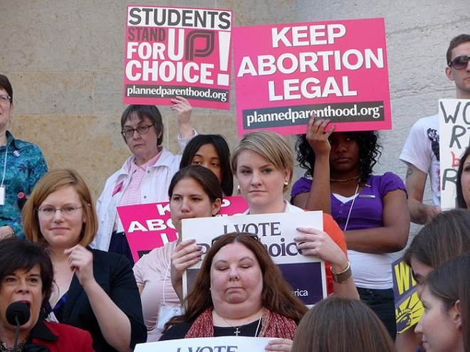 A telemedicine abortion ban in Ohio was temporarily halted by a judge - PHOTO VIA PROGRESS OHIO/FLICKR