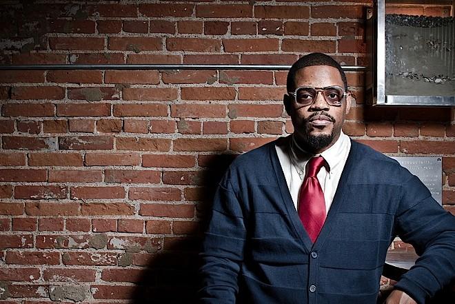 Hip-hop producer and jazz drummer Karriem Riggins - COURTESY OF TRI-C