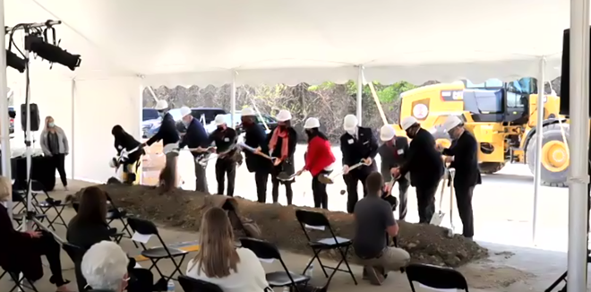 GREATER CLEVELAND FOOD BANK, GROUNBREAKING LIVE STREAM, (4/14/21).