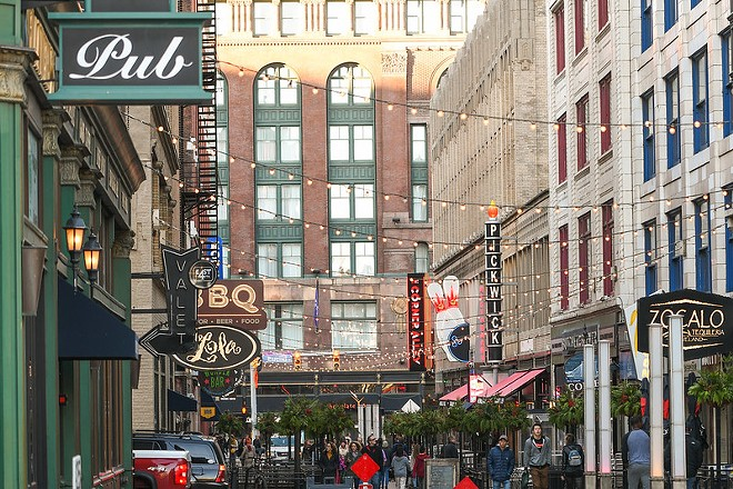 East 4th St. will be bustling for the first time in a long time come the NFL draft - ERIK DROST/FLICKRCC