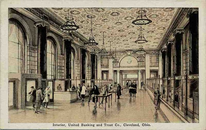 An old image of the United Bank Building, built in 1925. - CLEVELAND MEMORY PROJECT