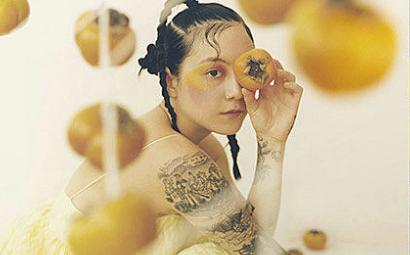 Cover art for the new Japanese Breakfast album.