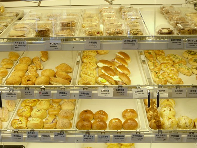 Buns on display at Koko Bakery in Cleveland. - DOUGLAS TRATTNER