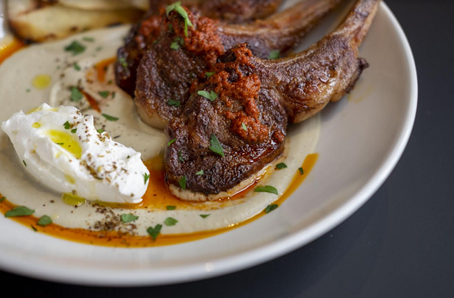 Lamb chops - COURTESY THE LAST PAGE