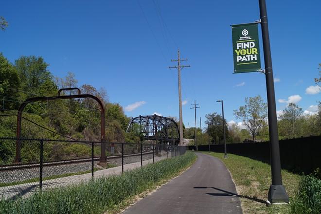 The Redline Greenway - SAM ALLARD / SCENE