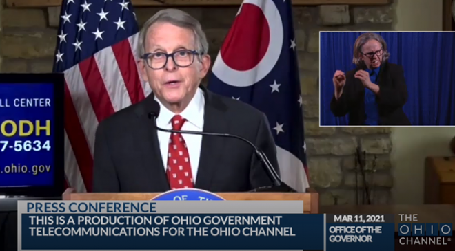 Gov. DeWine announced Ohio will end the federal unemployment supplement - THE OHIO CHANNEL