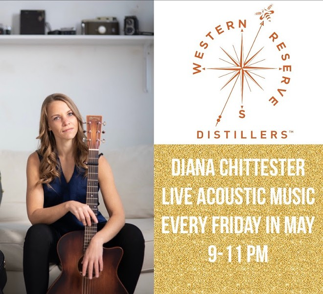 Poster for Diana Chittister's residency at Western Reserve Distillers. - EVERY ANGLE PHOTOGRAPHY