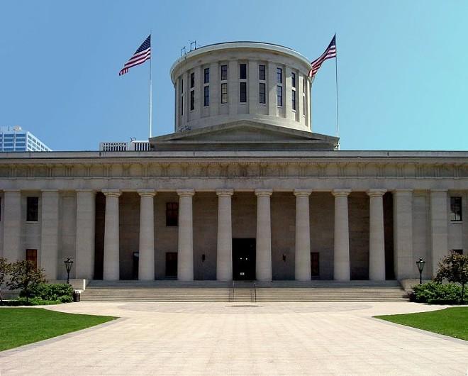The Ohio Statehouse - WIKIMEDIA COMMONS