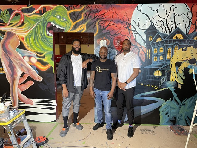 The team behind the Haunted House Restaurant in Cleveland Heights. - DOUGLAS TRATTNER