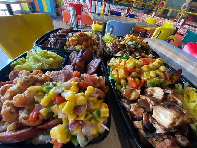 Food at Irie Jamaican Kitchen. - COURTESY IRIE JAMAICAN KITCHEN
