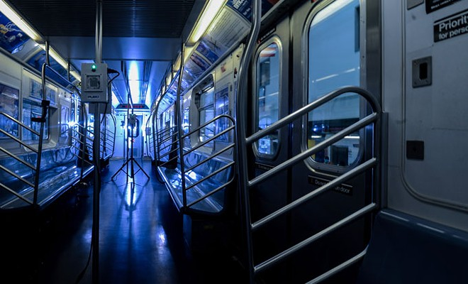 The Metropolitan Transit Authority in New York City recently launched a pilot program to sterilize subway cars, buses and other facilities with virus-killing UV light (pictured). - MARC A. HERMANN / MTA NEW YORK CITY TRANSIT