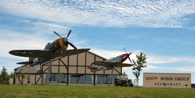 A new life for the 100th Bomb Group restaurant - J MIERS/WIKIMEDIA COMMONS