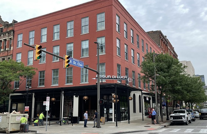 Acqua di Luca in the Warehouse District is expected to open in mid-June. - DOUGLAS TRATTNER