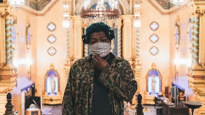 Local rapper Floco Torres. - ASHTON BLAAK