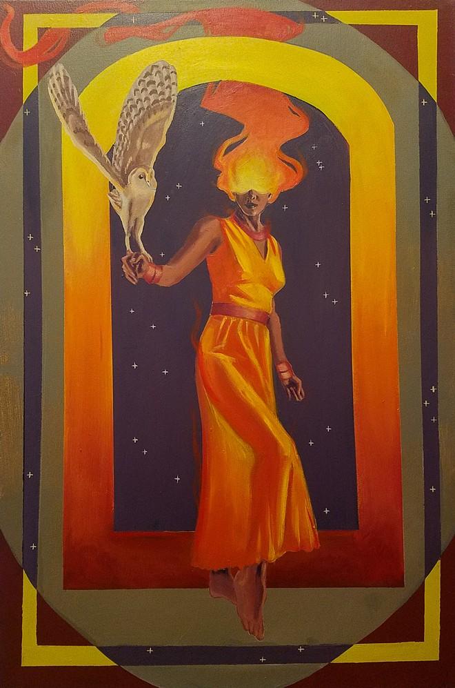 """Enchantress,"" by Ray Rodriguez - COURTESY RAY RODRIGUEZ"