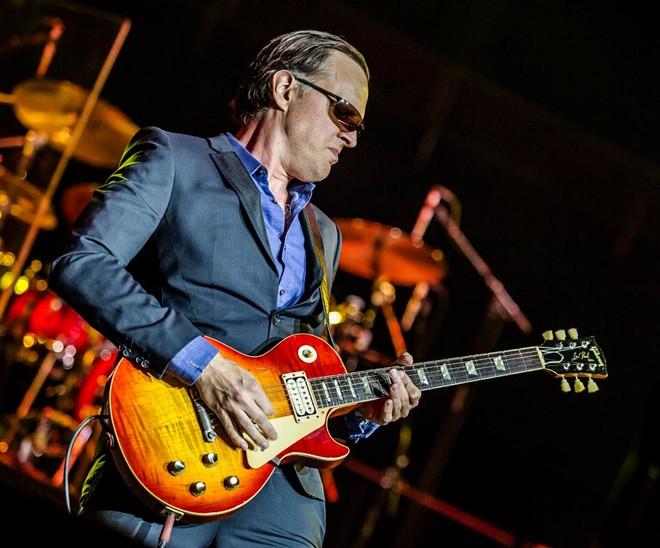 Singer-guitarist Joe Bonamassa. - ROBERT SUTTON