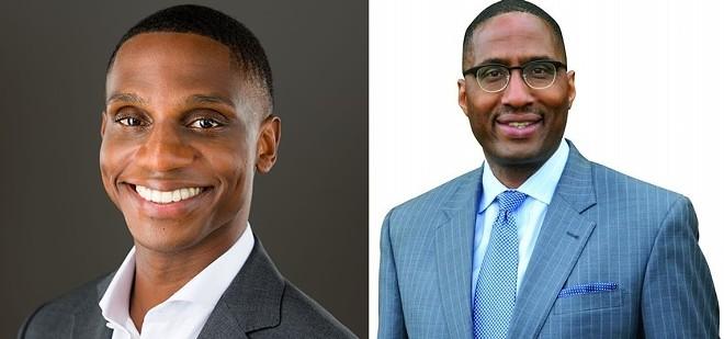 2021 Cleveland mayoral candidates Justin Bibb (L) and Zack Reed (R). - COURTESY JUSTIN BIBB / ZACK REED