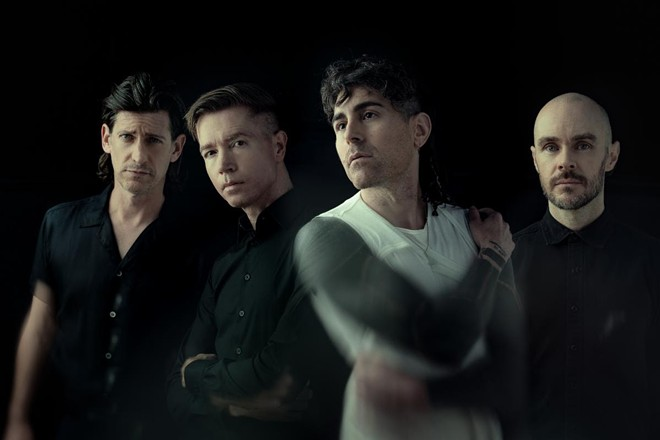 The hard rock act AFI. - COURTESY OF BIG HASSLE