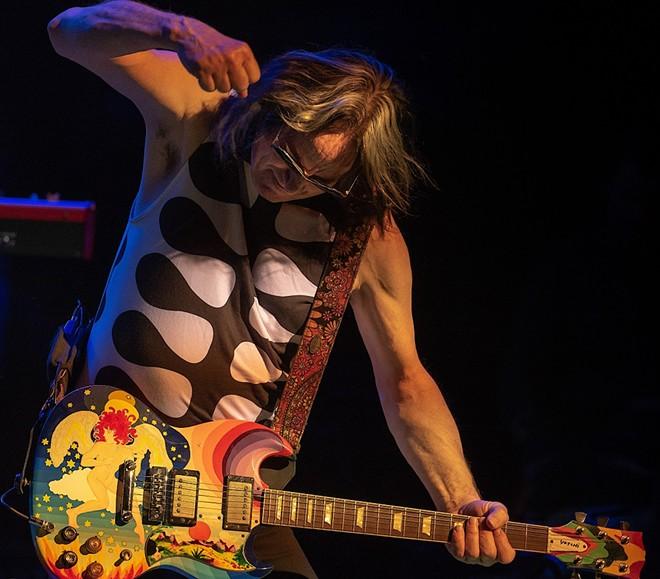 Singer-guitarist Todd Rundgren. - RICHARD KERRIS