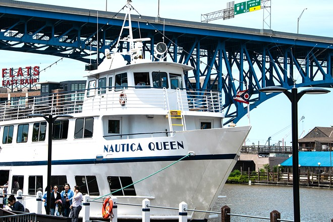 The Nautica Queen will set sail once again this weekend. - COURTESY OF NAUTICA WATERFRONT DISTRICT
