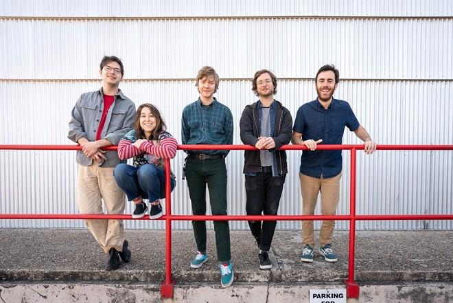 Indie rockers Pinegrove. - CHRISTA JOYNER MOODY