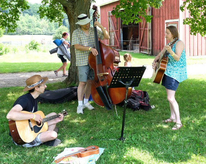 The Music in the Valley Folk and Wine Festival will feature local musicians. - COURTESY OF HALE FARM & VILLAGE