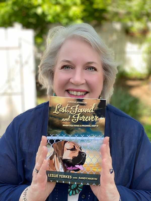 Local author and speaker Leslie Yerkes. - KATHLEEN COLAN