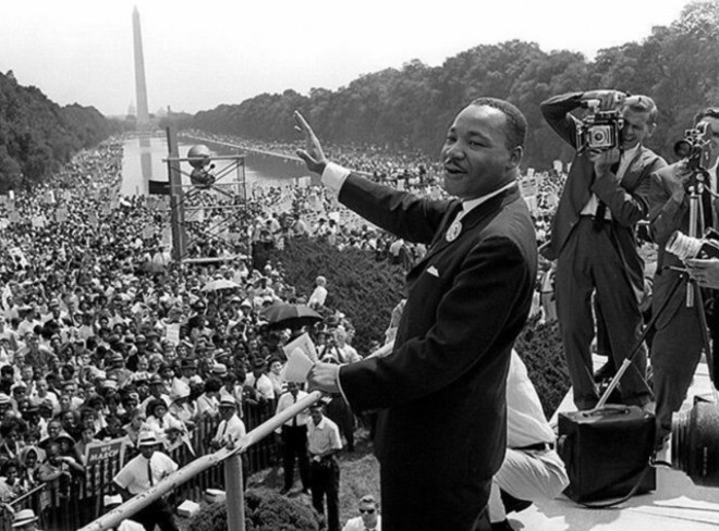 Martin Luther King Jr. - PHOTO: COURTESY THE NATIONAL PARK SERVICE