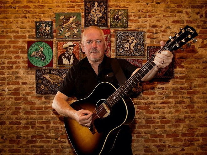 Musician and artist Jon Langford. - COURTESY OF BLUE ARROW RECORDS
