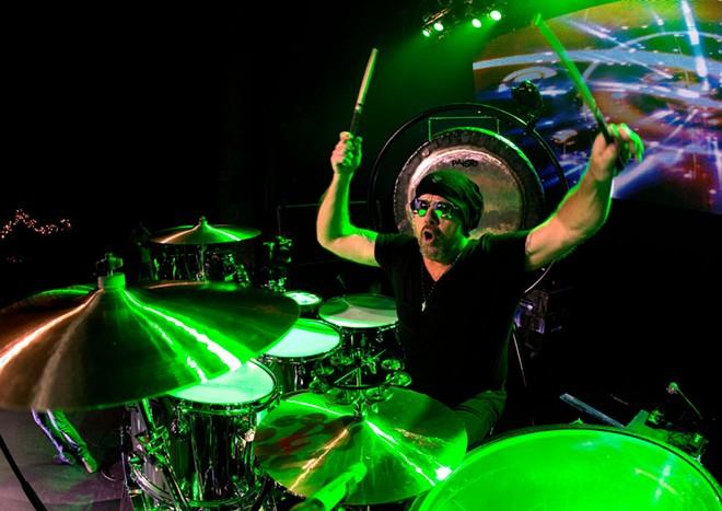 Drummer extraordinaire Jason Bonham. - MIKE CORRADO