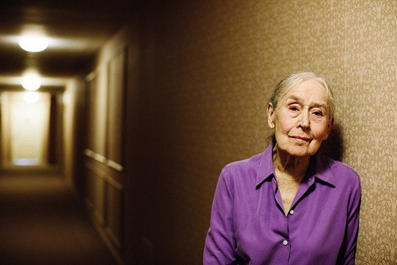 Dorothy Silver posing in 2015 - PHOTO BY PETER LARSON