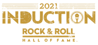Logo for 2021 Rock Hall Inductions. - COURTESY OF THE ROCK HALL