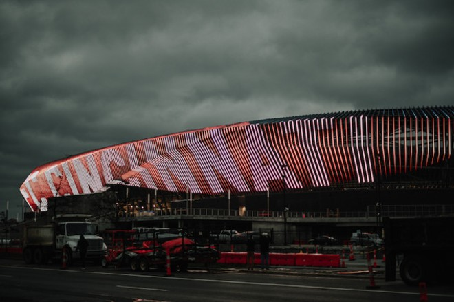TQL Stadium in Cincinnati - PHOTO BY FRANCISCO HUERTA JR.