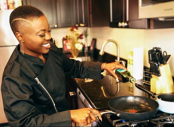 Chef Chaundrea Simmons to host a vegan pop-up. - COURTESY CHAUNDREA SIMMONS