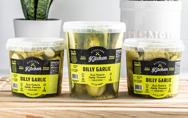Cleveland Kitchen has rolled out a new fermented pickle product. - COURTESY CLEVELAND KITCHEN