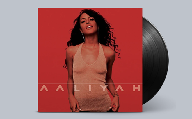 Aaliyah's music is available on CD and vinyl for the first time in many years. - COURTESY BLACKGROUND RECORDS