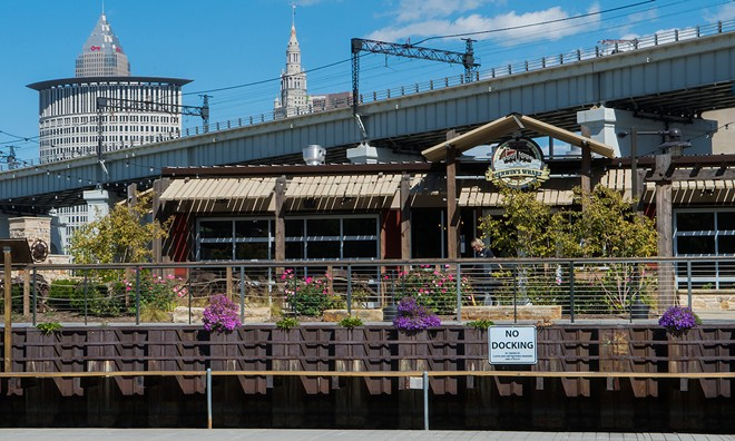 Merwin's Wharf has reopened - COURTESY CLEVELAND METROPARKS