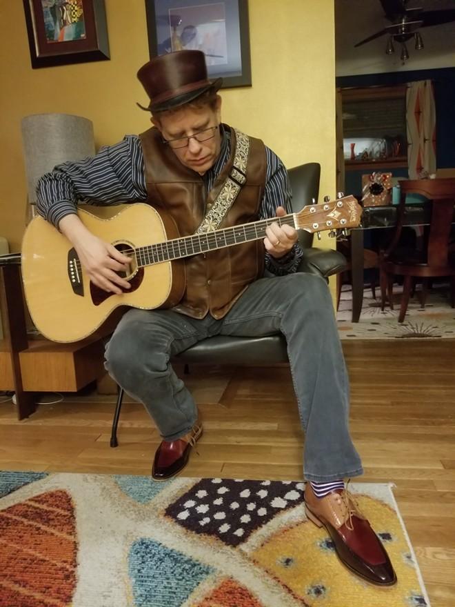 Local singer-songwriter Tom Adams. - COURTESY OF TOM ADAMS