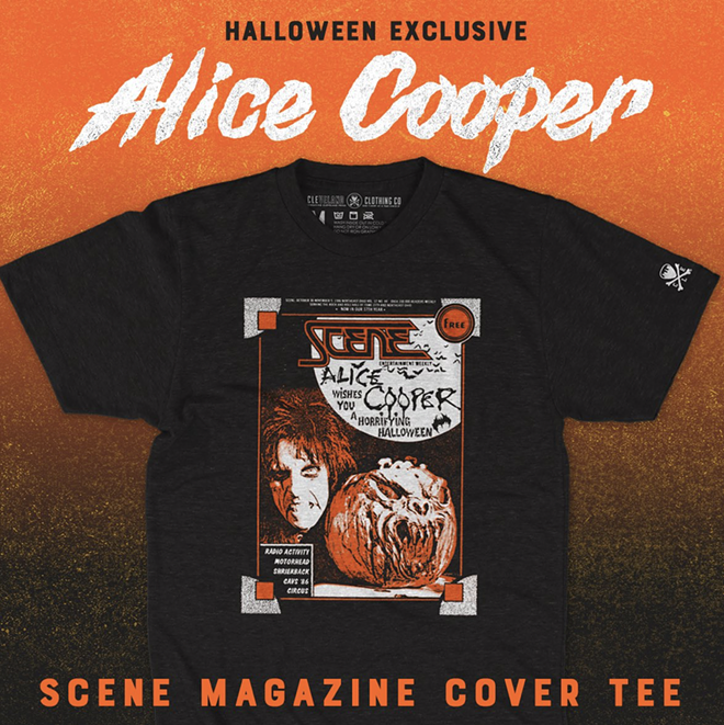 October's Scene shirt is seasonally appropriate - CLE CLOTHING CO.