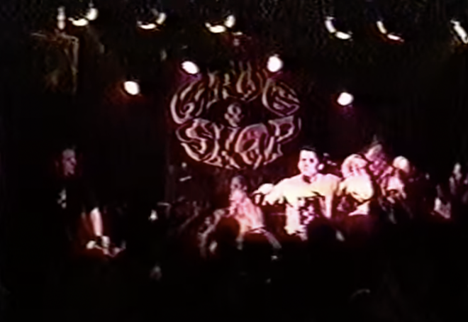 The Dropkick Murphys at the Grog Shop in 1998 - YOUTUBE/PRESS RECORD
