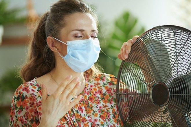 The CDC says fan that shit - SHUTTERSTOCK
