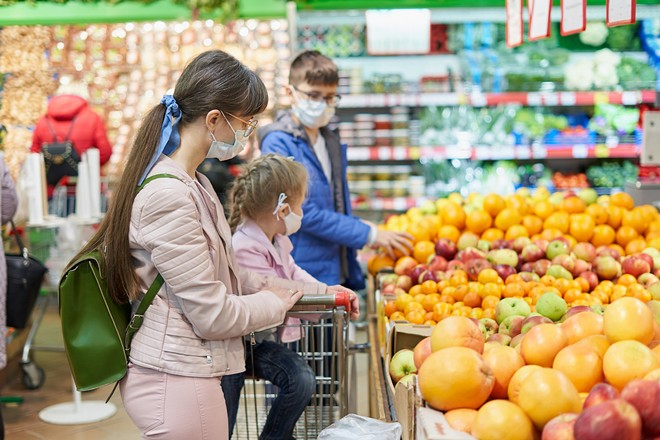A survey found that increased SNAP benefits during the pandemic helped families eat healthier foods. - (ADOBE STOCK)