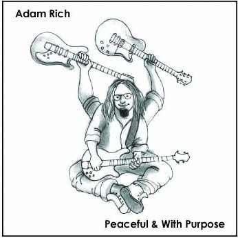 Cover art for Adam Rich's latest effort. - COURTESY OF ADAM RICH