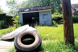 One property recently surveyed by the property assessment crew. - SAM ALLARD / SCENE