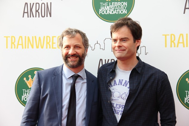 Apatow and Hader - CAITLIN SUMMERS / SCENE