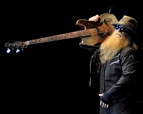 ZZ Top performing in Akron in 2012. - JOE KLEON