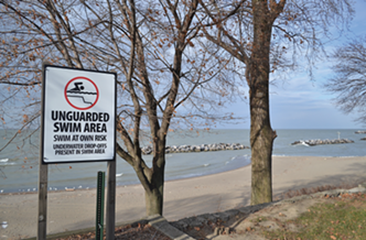 Euclid Beach, December, 2013. - DOUG BROWN / SCENE